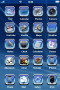 Glass Blue Abstract IPhone Theme themes