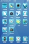 Blue 3D Abstract IPhone Theme themes