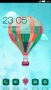 Hot Air Balloon Colors Design Android Theme themes