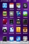 Purple Lovely Simple ICons IPhone Theme themes