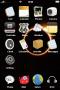 Solar Black & Fire Free IPhone Theme themes