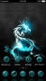 Dragon Lights Blue Android Theme themes