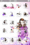 Purple Fashion Girls ICons IPhone Theme themes