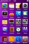 Purple Background Abstract IPhone Theme themes
