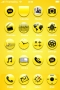 Yellow Style ICons Abstract IPhone Theme themes