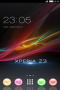 Xperia Z3 Colors Art Android Theme Free Mobile Themes