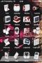 Pink Kiss Black Art IPhone Theme themes