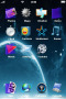 Space Natural Sky IPhone Theme themes
