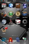 Abstract 3D HD Blocks IPhone Theme themes