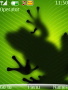 Green Frog Shadow S40 Theme themes