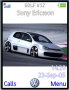 White Racing Car Free Mobile Themes
