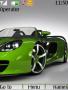 Green Car Theme themes