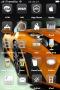 Orange Car Front IPhone Theme themes