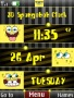 3D Spongbob Clock Free Mobile Themes