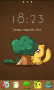 Cute Kitty Hide Tree For Android Theme Free Mobile Themes