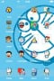 Doraemons Looking IPhone Theme themes