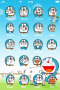 Funny Face Of Doraemon IPhone Theme themes