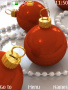 Red Christmas Balls themes