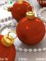 Red Christmas Balls themes