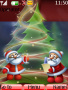 Merry Xmas Old Santa S40 Theme themes