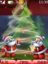 Merry Xmas Old Santa S40 Theme themes