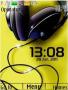Headphones Clock Free Mobile Themes