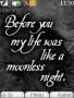 Moonless Night themes