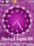 Pink Clock themes
