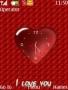 Heart Clock Nokia Theme themes
