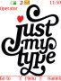 Just My Type Nokia Theme themes