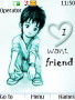 I Want Friend Love Theme Free Mobile Themes