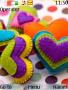 Colourful Heart Theme themes
