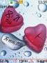 Heart Dual Clock themes