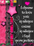 Love In Silence themes