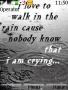 Walk In The Rain themes