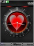 Swf Heart Clock themes