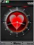 Swf Heart Clock themes