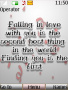 Falling In Love themes