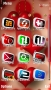Red Love Heart S60v5 Theme themes