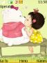 Cute Teddy Love S40 Theme themes
