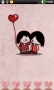 Cute Lovers For Android Theme themes
