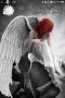 Alone & Red Hair Girl Apple IPhone Theme themes