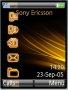 Vista Orange Black Free Mobile Themes