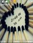 Match Sticks Clock themes