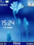 Blue Leaf Clock themes