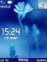 Blue Leaf Clock themes