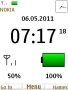 White Battery Clock themes