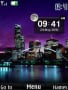 City Lights Clock Free Mobile Themes