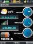 Super Nokia Clock Free Mobile Themes