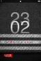 Black Locked Clock IPhone Theme themes